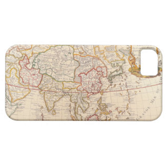 Map of Asia 5 iPhone 5 Covers