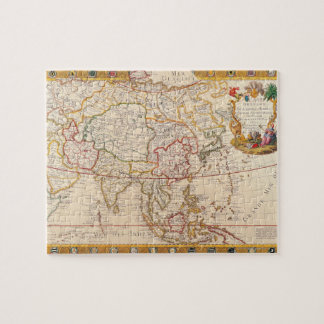 Map of Asia 5 Jigsaw Puzzle