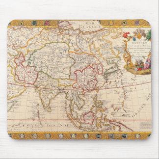 Map of Asia 5 Mouse Pad