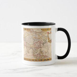Map of Asia 5 Mug