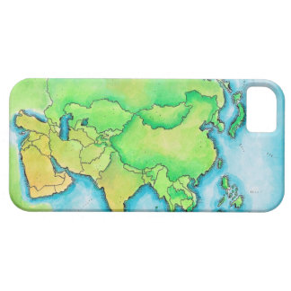 Map of Asia Barely There iPhone 5 Case