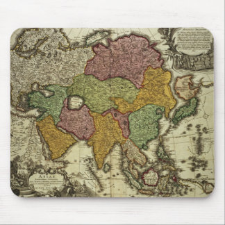 Map of Asia, Nuremberg, c.1730 Mouse Mat