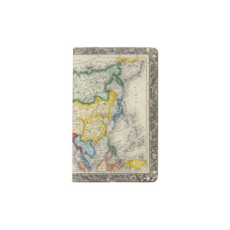 Map Of Asia Pocket Moleskine Notebook