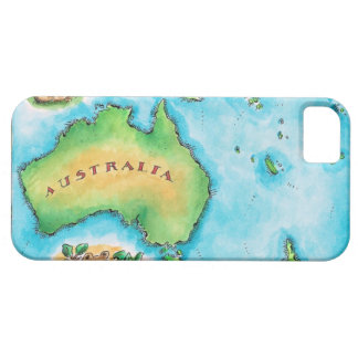 Map of Australia 2 Case For The iPhone 5