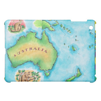 Map of Australia 2 iPad Mini Covers