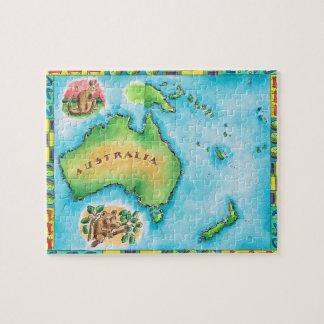 Map of Australia 2 Puzzles