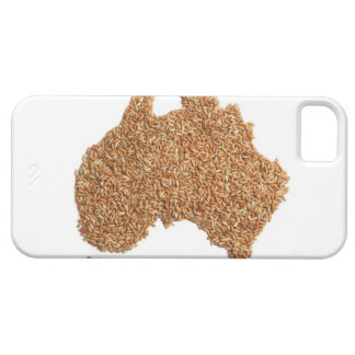 Map of Australia made of Glutinous Rice Case For The iPhone 5