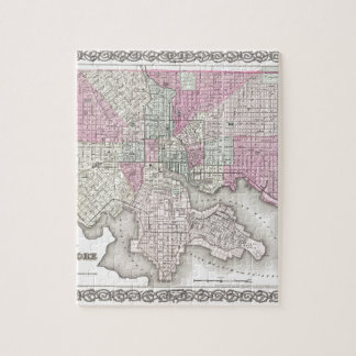 Map of Baltimore Maryland Jigsaw Puzzle