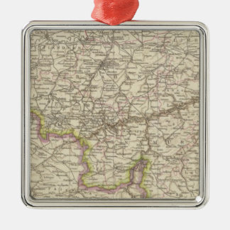 Map of Belgium and Luxembourg Ornaments