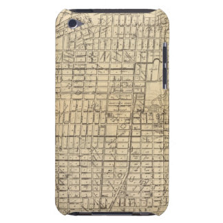 Map of Berkeley, California Case-Mate iPod Touch Case