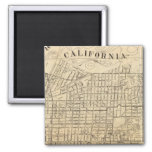 Map of Berkeley, California Magnet