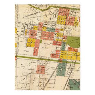 Map of Berkeley Postcard
