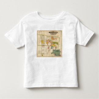 Map of Berkeley Toddler T-Shirt