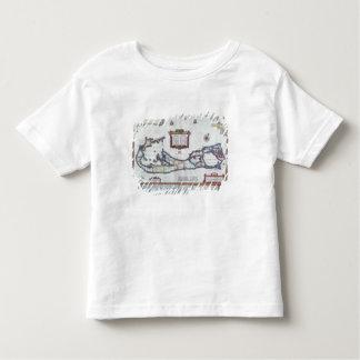Map of Bermuda Toddler T-Shirt