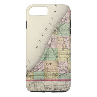 Map of Berrien County, Michigan iPhone 7 Plus Case