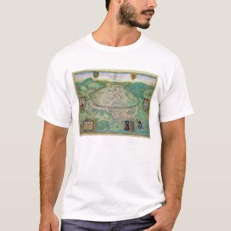 Map of Besancon, from 'Civitates Orbis Terrarum' b T-Shirt