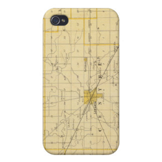 Map of Boone County iPhone 4 Case