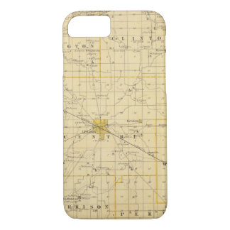 Map of Boone County iPhone 7 Case