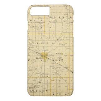 Map of Boone County iPhone 8 Plus/7 Plus Case