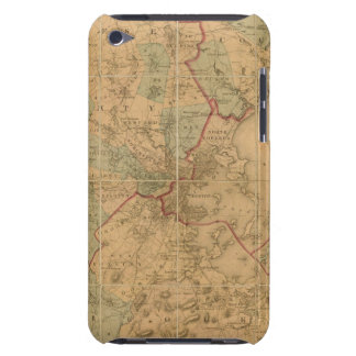Map Of Boston 2 Barely There iPod Cases