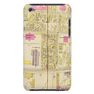 Map of Boston 6 iPod Touch Cover