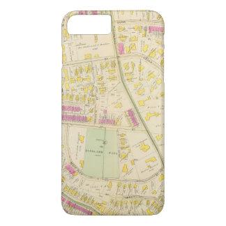 Map of Boston 7 iPhone 8 Plus/7 Plus Case