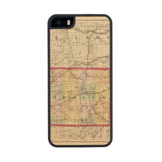 Map of Branch County, Michigan iPhone 6 Plus Case