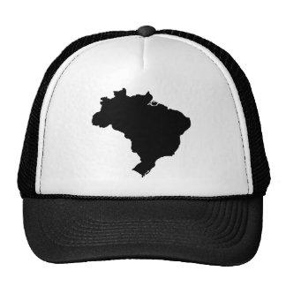 Map of Brazil Cap