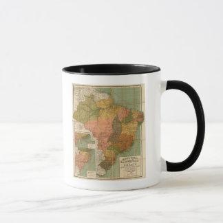 Map of Brazil Mug