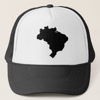 Map of Brazil Trucker Hat