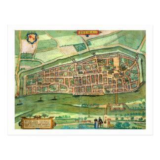 Map of Bremen, from 'Civitates Orbis Terrarum' by Postcard
