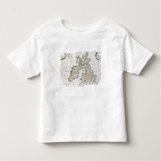 Map of Britain and Ireland, published Paris 1640 ( Toddler T-Shirt