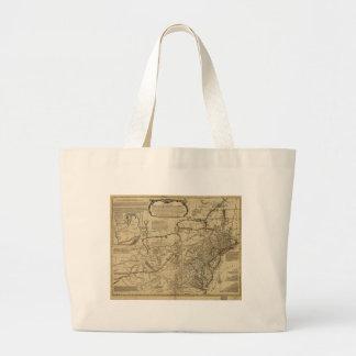 Map of British Colonies in America (1771) Large Tote Bag