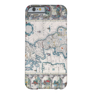 Map of British Isles 2 Barely There iPhone 6 Case