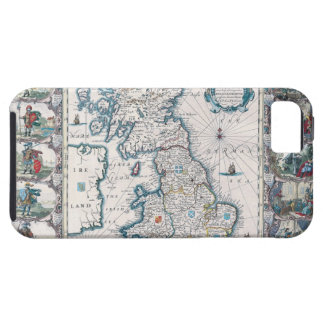 Map of British Isles 2 Case For The iPhone 5