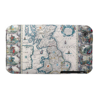 Map of British Isles 2 iPhone 3 Case-Mate Cases