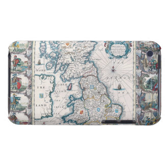 Map of British Isles 2 iPod Touch Covers