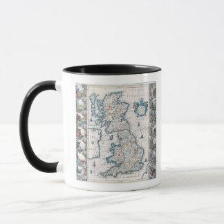Map of British Isles 2 Mug