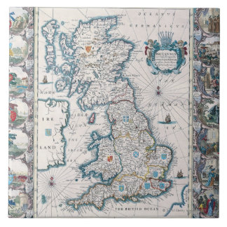 Map of British Isles 2 Tile
