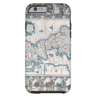 Map of British Isles 2 Tough iPhone 6 Case