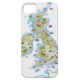 Map of British Isles iPhone 5 Covers