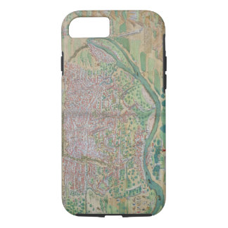 Map of Cairo, from 'Civitates Orbis Terrarum' by G iPhone 8/7 Case