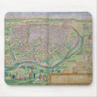 Map of Cairo, from 'Civitates Orbis Terrarum' by G Mouse Mat