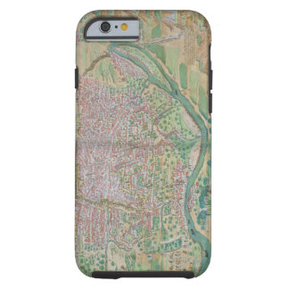 Map of Cairo, from 'Civitates Orbis Terrarum' by G Tough iPhone 6 Case