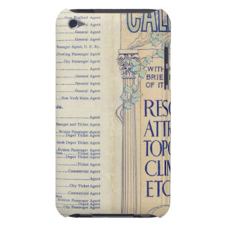 Map of California 2 iPod Case-Mate Cases