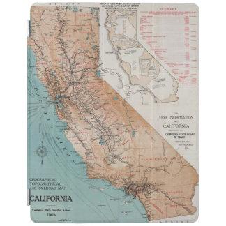 Map of California 2 iPad Cover