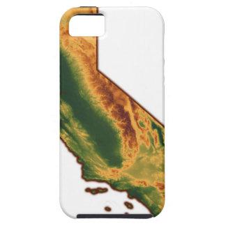 Map of California 2 iPhone 5 Case