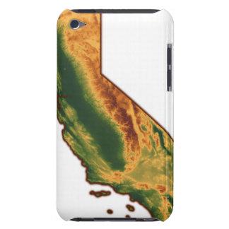 Map of California 2 iPod Case-Mate Case