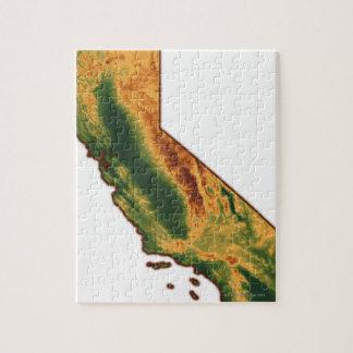 Map of California 2 Puzzles