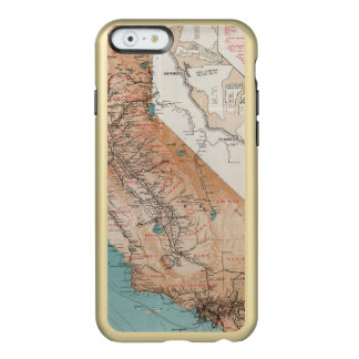 Map of California 2 Incipio Feather® Shine iPhone 6 Case